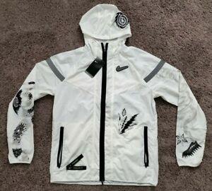 Nike Men's Windrunner Hooded Full Zip Running Jacket   CJ5820 100  Size M