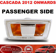 VAUXHALL CASCADA SIDE REPEATER WING INDICATOR PASSENGER NEAR SIDE ELITE SE CDTI