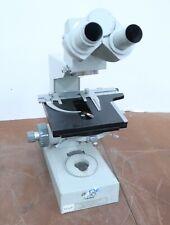 Carl Zeiss Jena Ergaval Binocular Vintage Microscope, Made in Germany