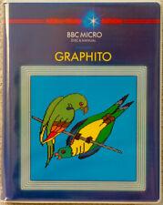 Graphito software. BBC Micro Disc & Manual 1984