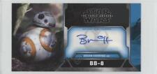 2017 Star Wars: The Force Awakens 3D Widevision Brian Herring Bb-8 as Auto 1m0