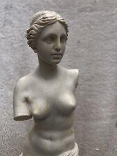 Santini Venus of Milo statue sculpture Italy Aphrodite nude no arms figurine vtg