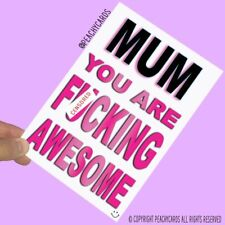 Funny Birthday Cards For Mum Greeting Cards Mother's Day Christmas Card PC630