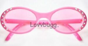 """Pink Sun Glasses for American Girl 18"""" Doll Clothes COOL ACCESSORY LOVVBUGG! 🐞"""