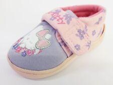 Hello Kitty Pink/Purple Riptape Slippers UK Sizes 7 - 12