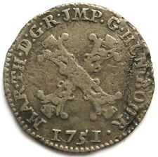 10 Liards 1751 Antwerpen, RDR, Maria Theresia (1740-1780)