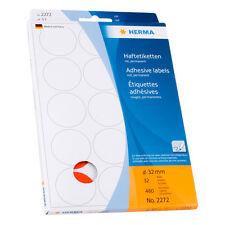 Etiketten Haftetiketten rund Markierungspunkte Punkte rot 32mm Herma 2272 32 mm
