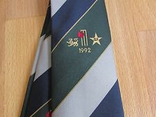 1994 Official TCCB / Cornhill Insurance New ZEALAND & South AFRICA Cricket Tie