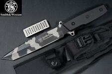 Couteau Tactical & Survie Smith&Wesson Homeland Security Tanto 440C Etui SWSURC