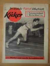 KICKER 29-20.7. 1959 (2) Manfred embuscade SEPP Herberger Fritz Walter 11 Rouge Chasseur