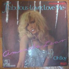 DISCO 45 GIRI AMANDA LEAR OH BOY FABULOUS LOVER LOVE ME ARIOLA 1979 VG+/VG+