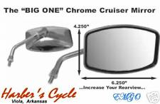 Yamaha Roadstar XV 1700 Road Star & Silverado - Chrome BIG MIRRORS left & right