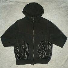 Mens PUMA Hussein Chalayan Black Full Zip Hoodie Sweat Shirt Jacket sz M