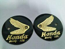 Honda Benly 125 C92 C95 CA92 CA95 CB92 CS92 GasTank Emblem Badges Pair
