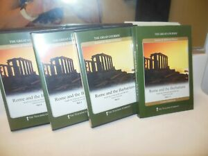 THE GREAT COURSES ~  ROME AND THE BARBARIANS ~ 6 DVD SET & COURSE GUIDEBOOK