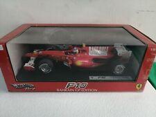 F10 Ferrari hotwheels racing 1 18 Bahrain F. Alonso gp edition F1 red no  bbr