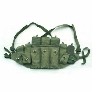 Chinese Military Type 56 Mag Ammo Pouch Field Assault Chicom Type56 Chest Rig
