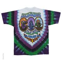 New GRATEFUL DEAD SEASONS OF THE DEAD ENDLESS TOUR TIE DYE T Shirt  ROCK SHIRT