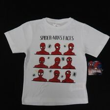 Kid's Marvel Spiderman Faces S/S Tee