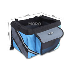 Portable Pet Travel Carrier Bag Dog Cat Puppy Car Bike Bicycle Soft Seat Tote UK Blue
