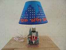Vintage Betty Boop New York Skyline Lamp