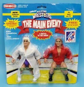 Vintage 1985 REMCO Wrestling Figure AWA NWA Ric Flair vs Larry Zbyszko