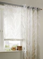 STORE ROULANT 120 x 140 Transparent branches TISSU RIDEAU STORE cordon Neuf