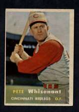 1957 Topps #373 Pete Whisenant EX+ RC Rookie Reds a602