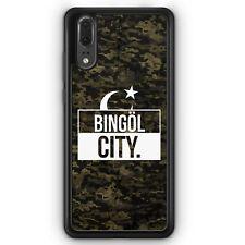 Huawei p20 Silicona Funda bingöl City camuflaje motivo Design turquía Türkiye puerta