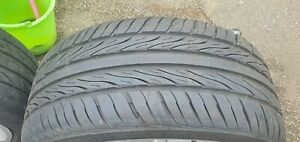 Audi 18 inch alloy wheels and tyres