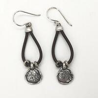 Vintage Dangle Square Cubic Zirconia Earrings Peridot Ear Stud Austrian Crystal