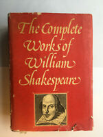 Complete Works of William Shakespeare Hardback Vintage 1977 Plays Scripts Poems