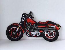 Vehículo Motocicleta Moto Parche bordado apliques coser o hierro en #1