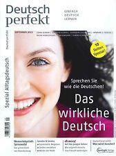 Deutsch perfekt - Heft September 09/2013: Das wirkliche Deutsch +++ wie neu +++