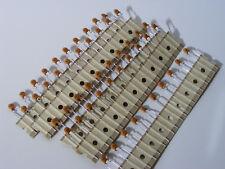 50 x 220pF 500V Philips Ceramic Disc Capacitors, D221K20Y5PL6UJ5R