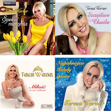 TERESA WERNER - Super Zestaw 4CD z Kolędami / POLISH CD