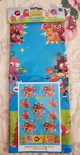 Moshi Monsters Table Cover Plastic 183cm x 138cm  Boys Birthday Party