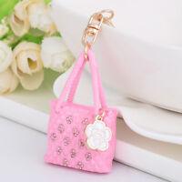 Popular Bag Shape Alloy Metal Key Chain Key Ring Handbag Pendant Fashion Jewelry