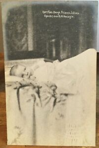 Vintage Postcard PRINCESS JULIANA Queen The Netherlands The Hague Baby Picture