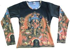 Lord Ganesh hindou Dieu religion Tattoo Designer star VIP Art T-shirt G.S