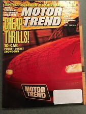 MOTOR TREND 1991 JULY - BMW 850i, Range Rover County SE, 90 Mustang LX Paxton SC