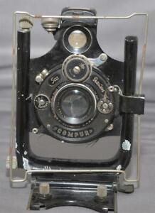Lens Standard w/ Ica Doppel-Anastigmat 13.5cm 1:6.8 Lens in ICA Compur Shutter