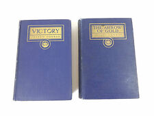 Lot of 2 by Joseph Conrad: Victory (1915) & The Arrow of Gold (1919) 1st Edition