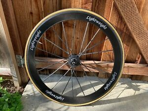 Lightweight Standard 3/Meilenstein Tubular Rear Wheel