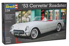 Revell '53 Corvette Roadster 1:24 Kit de Construction Modèle Montage Auto