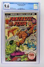 Fantastic Four #166 - Marvel 1976 CGC 9.6 Hulk Appearance.