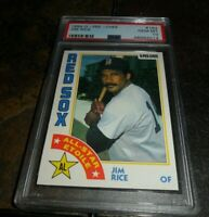 1984 O-PEE-CHEE OPC by Topps #184 JIM RICE BOSTON RED SOX HOF  PSA 10 GEM MINT
