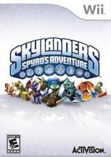 Skylanders Spyro's Adventure For Wii Game Only 1E