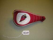 Arizona Cardinals w/Logo White/Red Fairway Wood Headcover He089