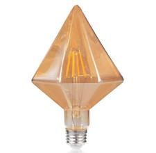 Vintage Diamond Edison Bulb 110V/4W 40W Incandescent Equivalent Energy Saving